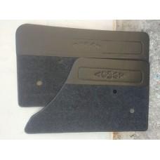 Обивка двери 2106-6101012/13/к-т 4 шт/ворс + кожзаменитель/.