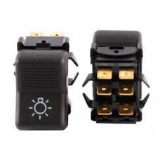 Выключатель / кнопка/ 2105главного света 6 контактов / 1 шт/ 