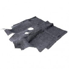 Ковер салона 2121 формованный (цвет серый)