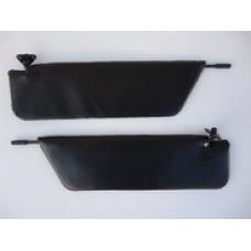 Козырьки солнцезащитные 2101к-т 2 шт, цвет черный