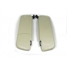 Козырьки солнцезащитные 2105к-т 2 шт, цвет серый