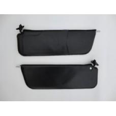 Козырьки солнцезащитные 2106к-т 2 шт, цвет черный