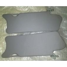 Козырьки солнцезащитные 2110к-т 2 шт, жесткие ,цвет серый
