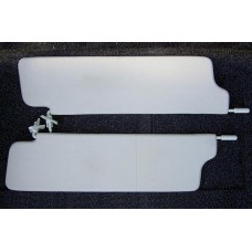 Козырьки солнцезащитные 21213к-т 2 шт, жесткие, цвет серый