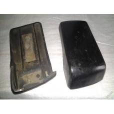 Накладка бампера 2105 задние боковые /к-т 2 шт/ правый,левый / РТИ
