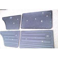 Обивка двери2107/к-т 4 шт/ кожзаменитель/ на пластиковой основе.