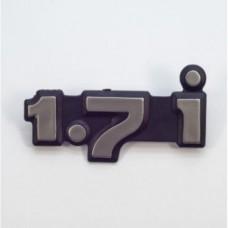 "Орнамент задка ""1,7 I""21213/ 1 шт/"